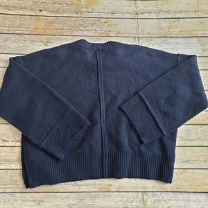 fb01144af85d Topshop Sweaters - TopShop cropped oversized sweater with buttons